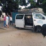 furgoneta misión a Tanguieta