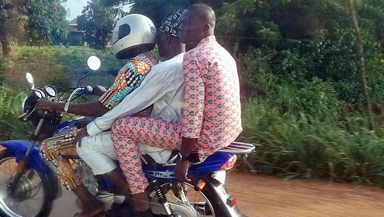 Benin avec plaisir. Cuarto día de la misión en Tanguieta